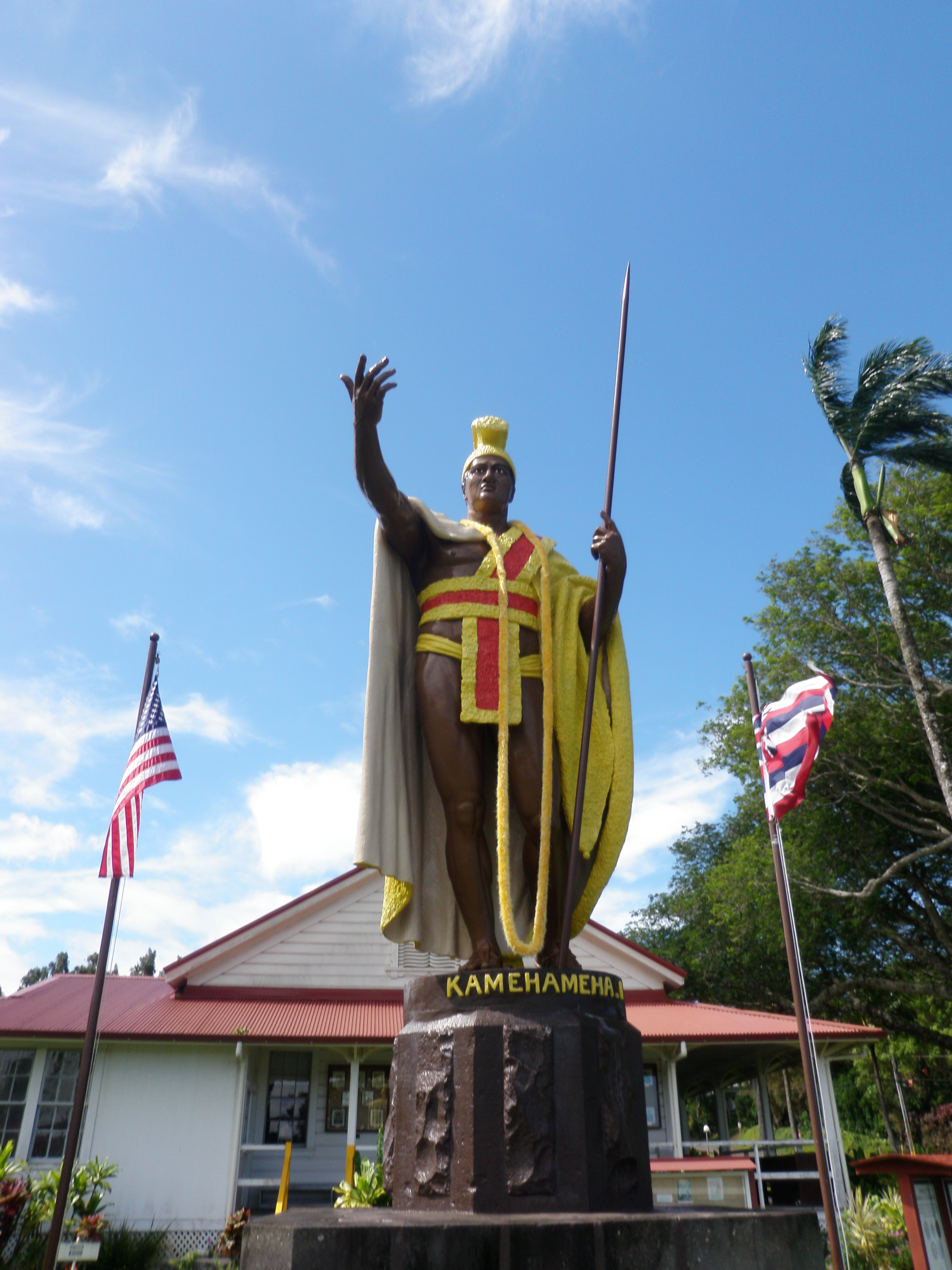 statue of king kamehameha in kapaau on the big island hawaii is my happy place pinterest. Black Bedroom Furniture Sets. Home Design Ideas